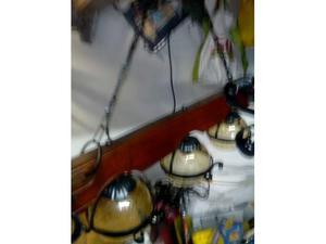 Lampadari ferro battuto e rustici