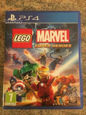 Lego Marvel Super Heroes per PS4 nuovo
