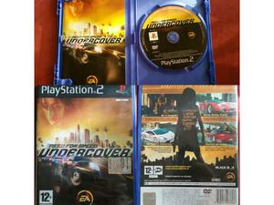 Need for Speed Undercover per Playstation 2 come NUOVO