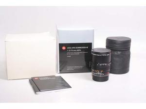 Obiettivo leica apo-summicron-m 75 mm f/2 asph. garanzia.