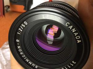 Obiettivo leica summicron-r 50 mm f:2
