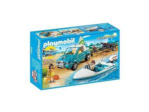 PLAYMOBIL  - SURFISTI CON PICK UP E MOTOSCAFO