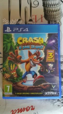 PS4 Crash Bandicot, Ghost Recon Wildland e altri