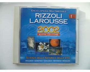 Rizzoli Larousse cd - Enciclopedia Scienza