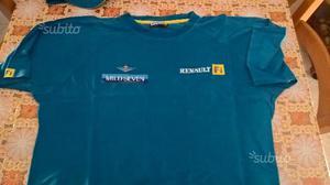 T shirt e cappellino vintage Renault F1 originale