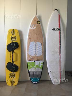Tavole surf e kitesurf
