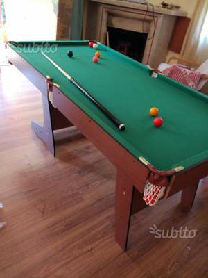 Tavolo da biliardo 8ft carambola pool table posot class - Tavolo da biliardo pieghevole ...