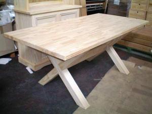 Tavolo da giardino legno massello