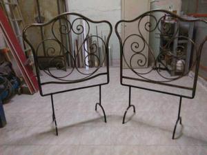 Testiere di letto in ferro battuto