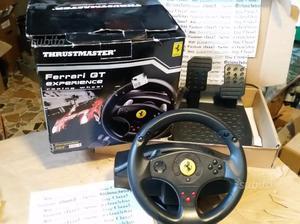 Thrustmaster VOLANTE PEDALIERA FERRARI GT per Sony