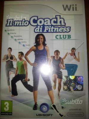 Wii gioco il mio coach di fitness club