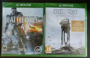 Xbox One - Battlefield 4 + SW Battlefront NUOVI