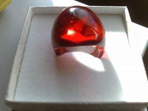 Anello LALIQUE originale in cristallo
