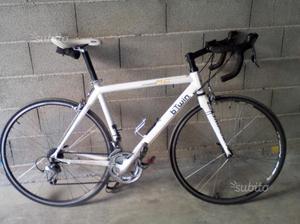 Bici da corsa in alluminio kg 9.7,tgM. 54
