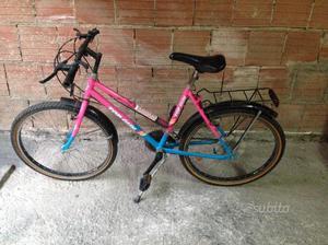 Bici mountain bike ruote 24