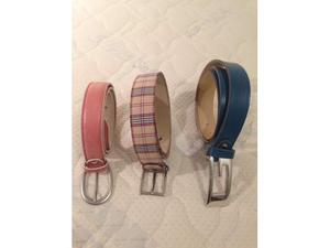 Cinture vera pelle donna vari colori