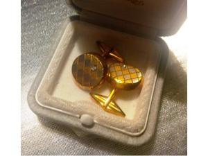 """Gemelli """"De Regilus"""", oro giallo e bianco 18kt e diamanti,"""