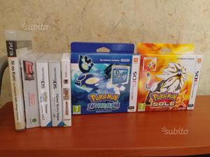 Giochi 3DS pokemon limited street fighter e ps3