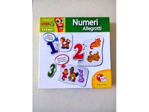 Gioco educativo puzzle x bambini 3/6 anni