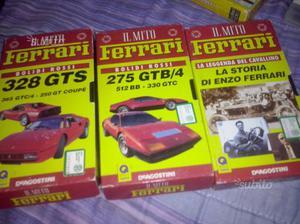 Il mito Ferrari, 3 vhs anni 90