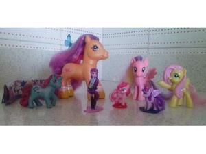 Lotto 7 mini pony/my little pony originali Hasbro
