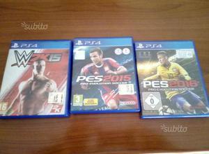 PS 4 PES W2k15