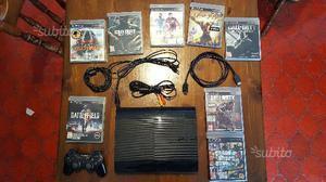PlayStation 3 super slim 500Gb+8 Giochi+Joystick