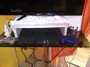 Playstation 3 slim con giochi e volante