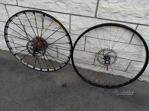"""Ruote cerchi 26"""" bici Mountain bike Mavic e FRM"""