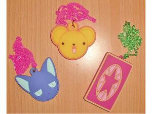 Set 3 collane ciondoli cardcaptor sakura