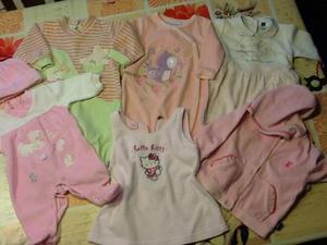 Stock vestiti bimba 3 mesi e 3/6 mesi