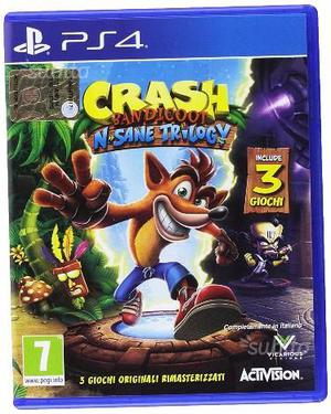 A.CQUISTO CRASH BANDICOOT ps4