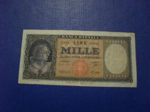 Banconote in lire Regno e Repubblica