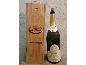 Bottiglia vuota Magnum 3l con custodia in legno