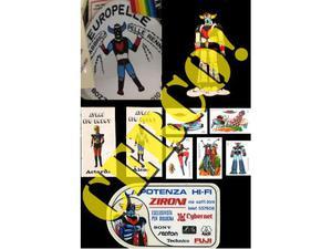 Cerco: [cerco] adesivi stickers con atlas ufo robot goldrake