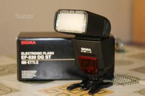 Flash SIGMA EF-530 DG SUPER EO-ETTL per CANON