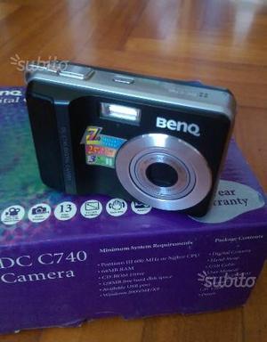 Fotocamera digitale Benq 7Megapixel 3x zoom ottico