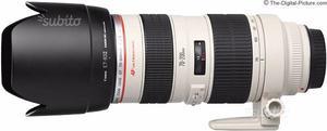 Obiettivo Canon  L f 2.8 ultrasonic