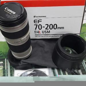 Obiettivo canon Efmm f/4L USM