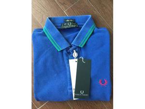 Polo Fred Perry Slim Fit taglia 40 nuova con etichette