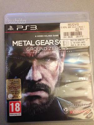 Ps3 metal gear solid ground zeroes