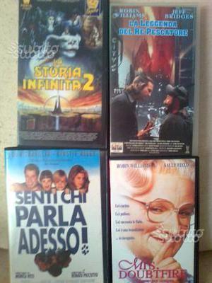 4 VHS FANTA e COMICI