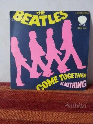 45 Giri Beatles Come Toghether/Something