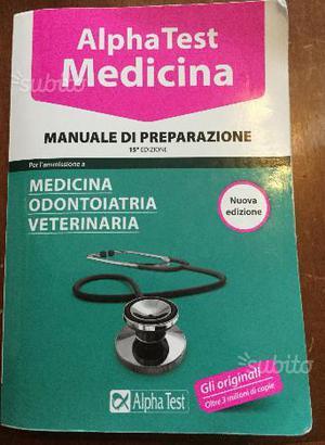 Alpha test medicina 15^ edizione