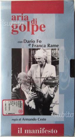 Aria di golpe VHS - Dario Fo, Franca Rame