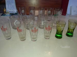 Bicchieri Bar anni 70 Solo 15 euro per 16 pezzi
