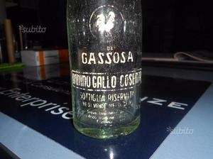Bottiglia Gassosa Vintage GALLO Cosenza