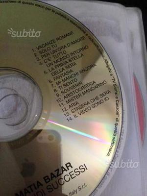 CD Matia Bazar I grandi successi