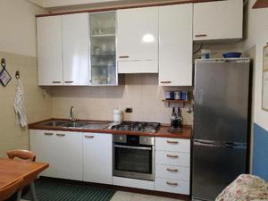 Cucina classica lineare color avorio metri 3 posot class for Cucina lineare 3 metri