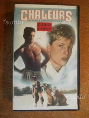 Cadinot Jean-Daniel- 5 film (VHS) anni '80